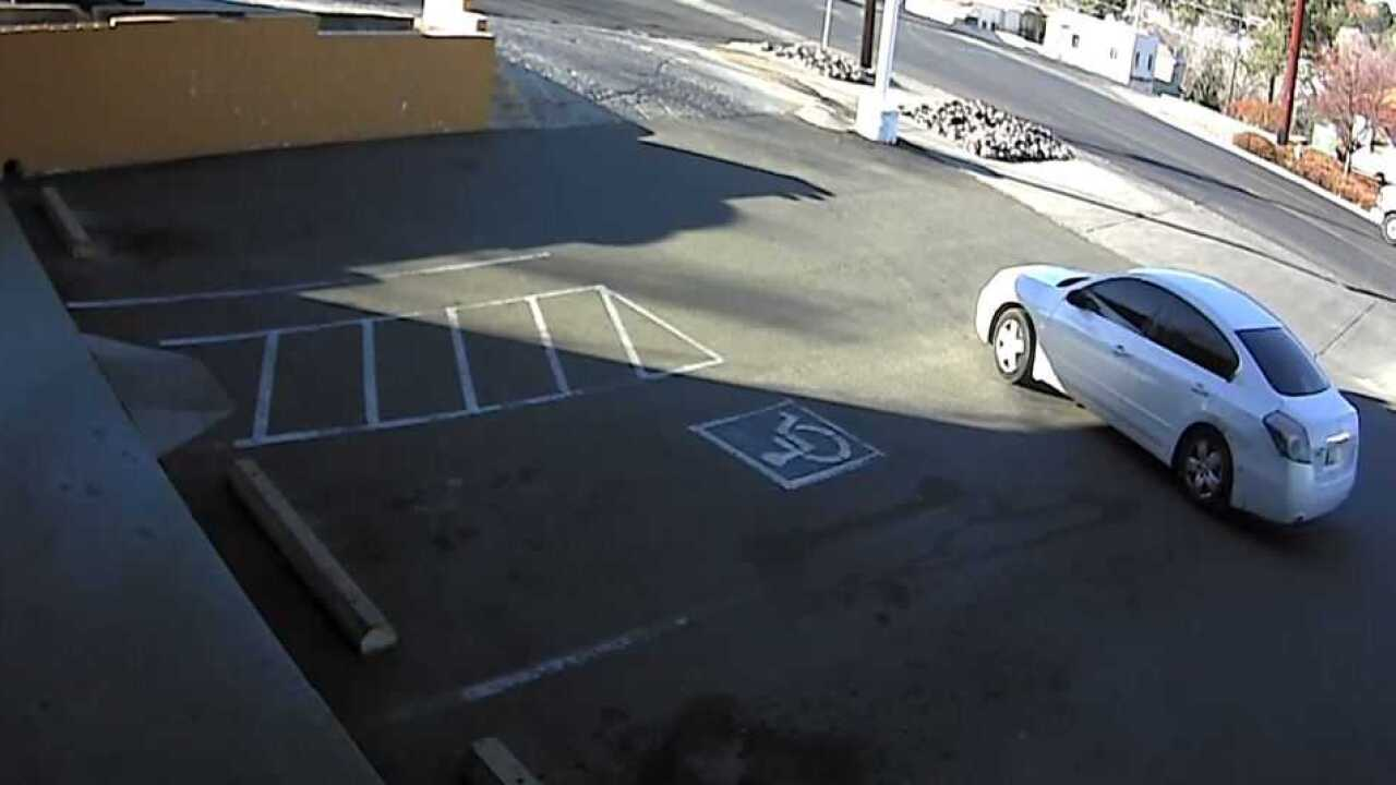 Prescott armed robbery suspect vehicle