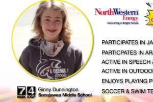 Middle Schooler of the Month: Ginny Dunnington
