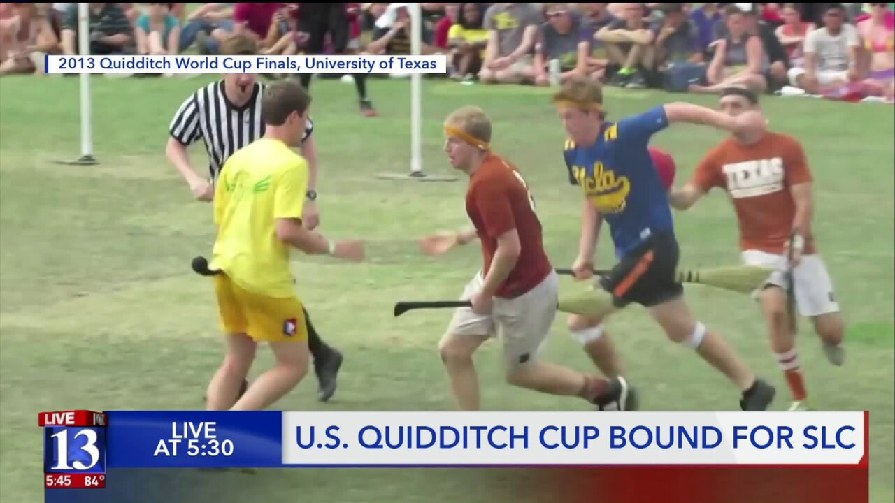 Salt Lake City to host 2021 Quidditch Cup