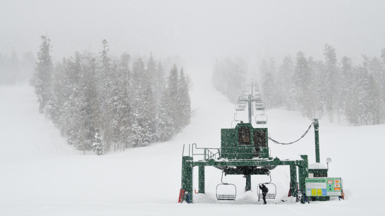Lee Canyon gained 3 feet of snow since Thursday