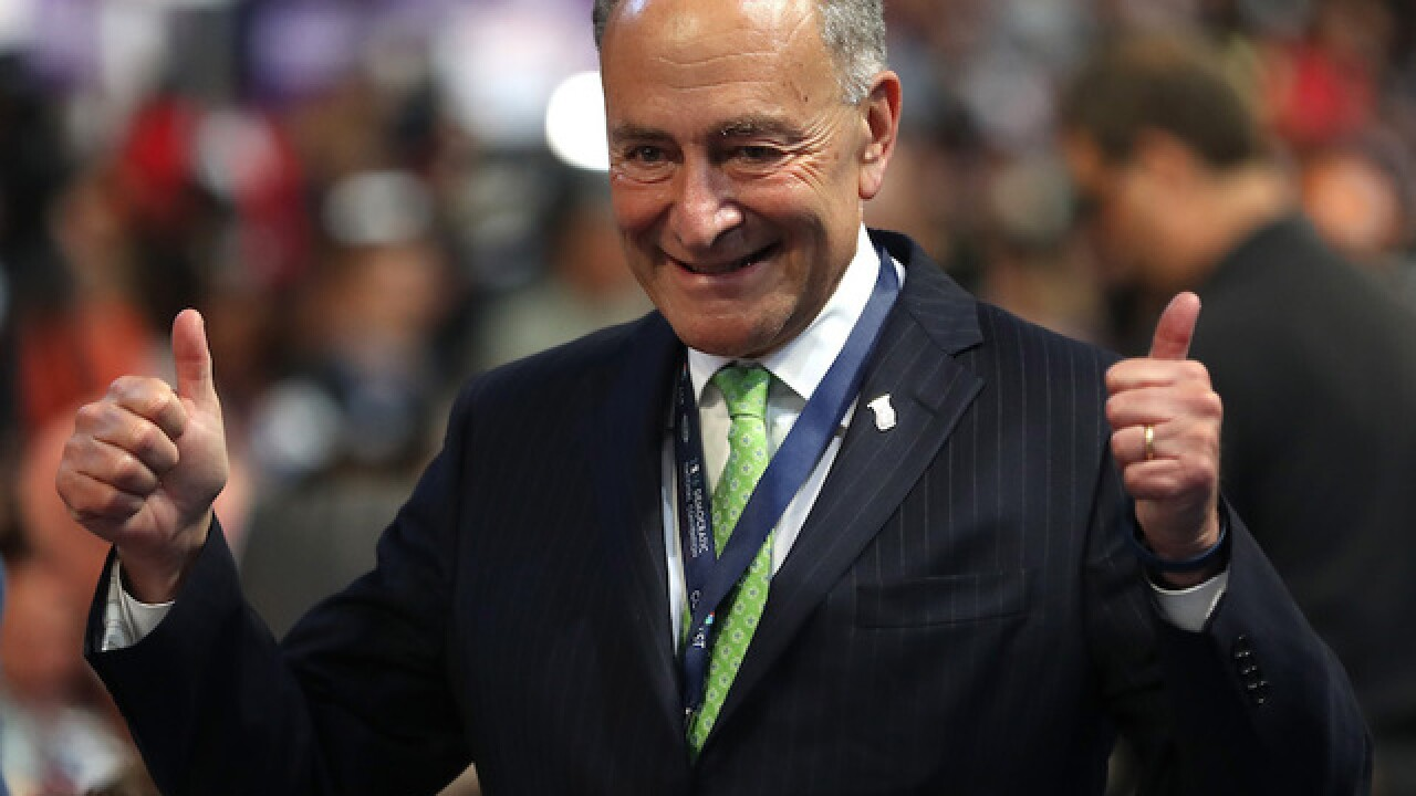 Chuck Schumer, Mitch McConnell elected Senate minority, majority leaders