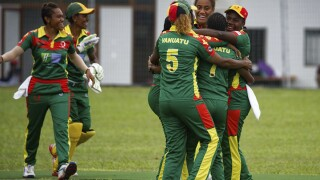 A rarity: Cricket goes live in Vanuatu in the South Pacific