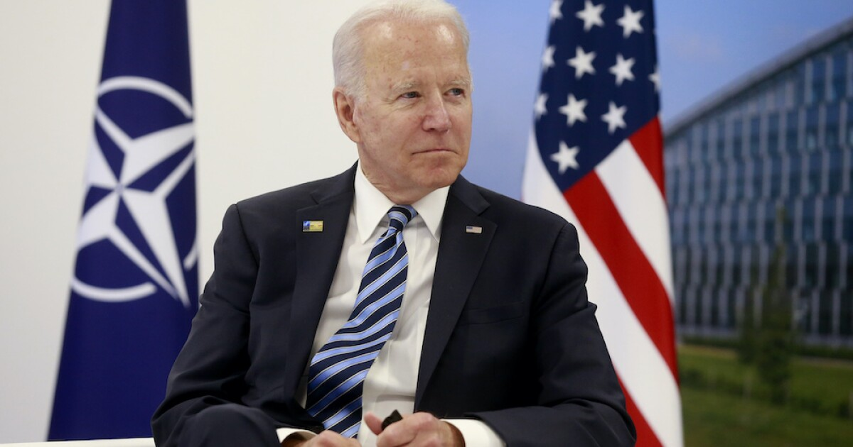 Biden arrives at NATO summit for talks with European, North American allies