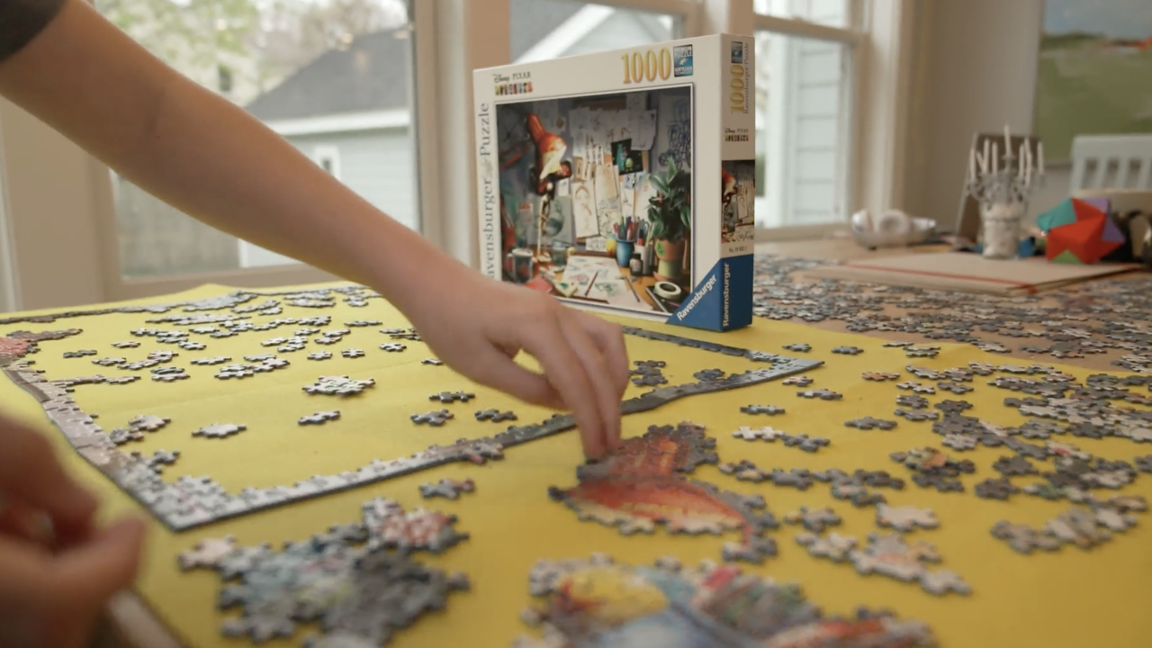 Puzzles skyrocket in popularity as people find new ways to cope during pandemic
