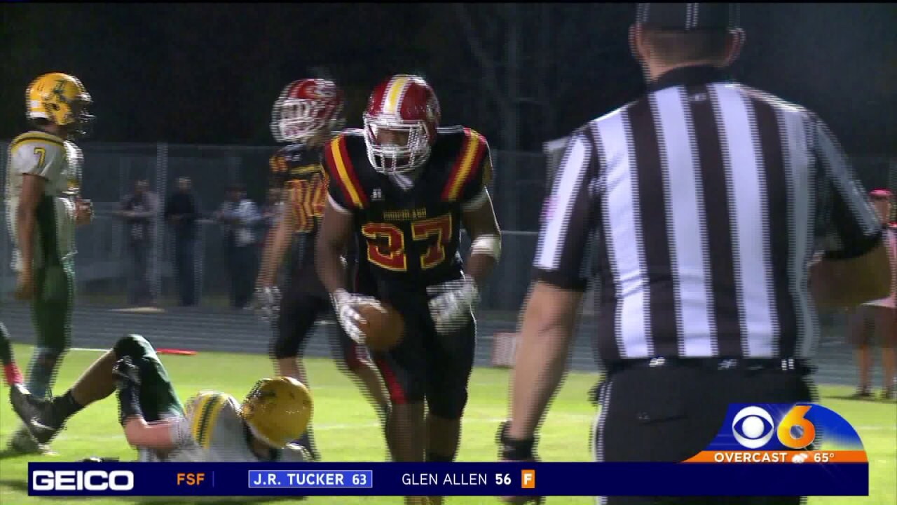 Goochland completes perfect regular season with 42-28 win over Amelia
