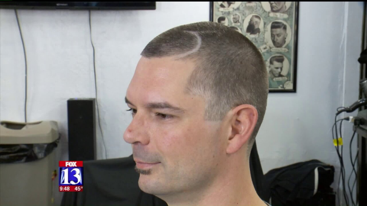 Free cuts for Utah fans willing to sport Jazzhairstyles