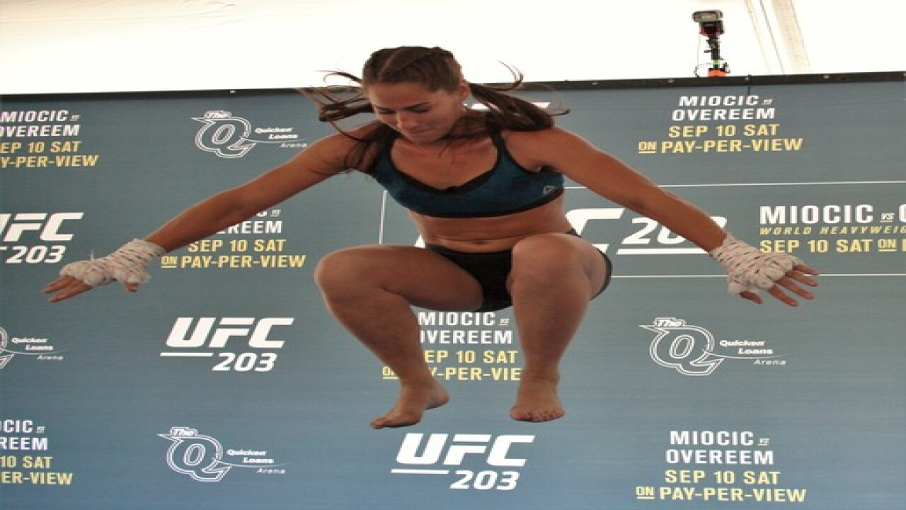 UFC 203 OPEN WORKOUTS