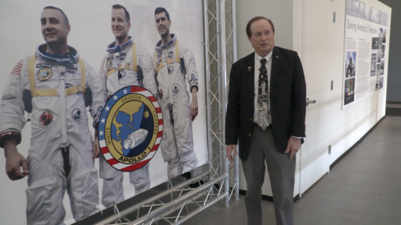 After 54 years at NASA, Apollo 11 engineer can't see himself retiring