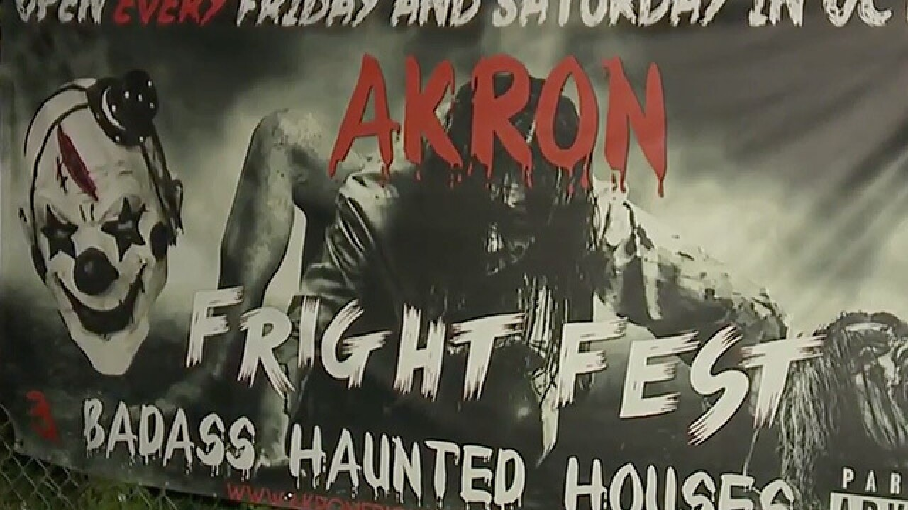 Akron Fright Fest shuts down following allegations of mock rape