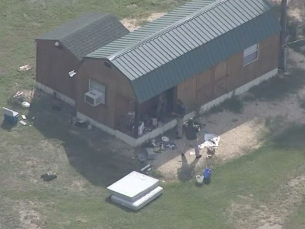 Two North Carolina State Bureau of Investigation agents were injured in an explosion in Sampson County, North Carolina (WTVD via ABC).