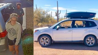 32-year-old Alexander Lofgren and 27-year-old Emily Henkel went missing while camping in Death Valley National Park this week.