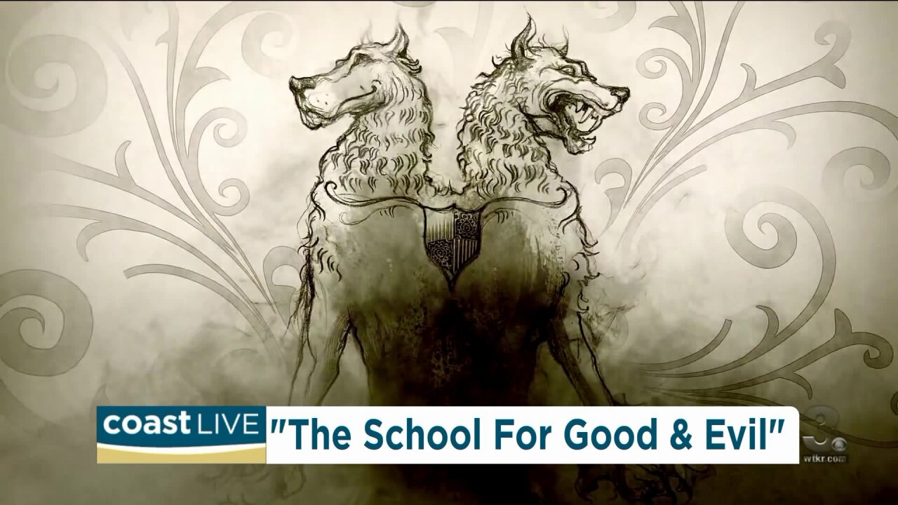 "Talking with the author of the fairy tale book series ""The School for Good and Evil"" on Coast Live"