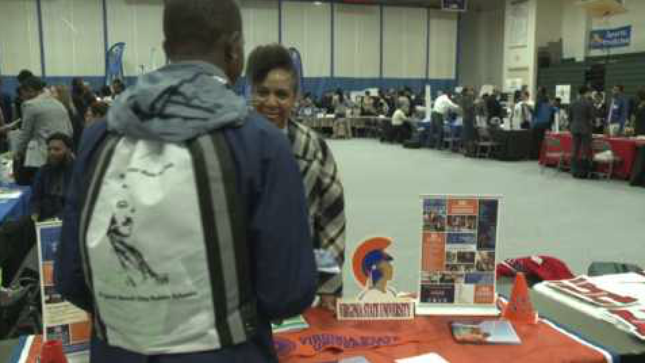 300 Virginia Beach students attended the 12 annual African-American MaleSummit