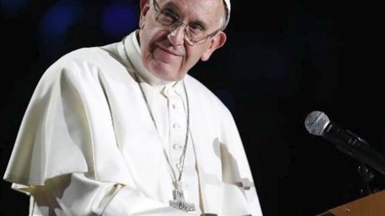 Pope Francis tells gay man 'God made you like that and loves you like that'