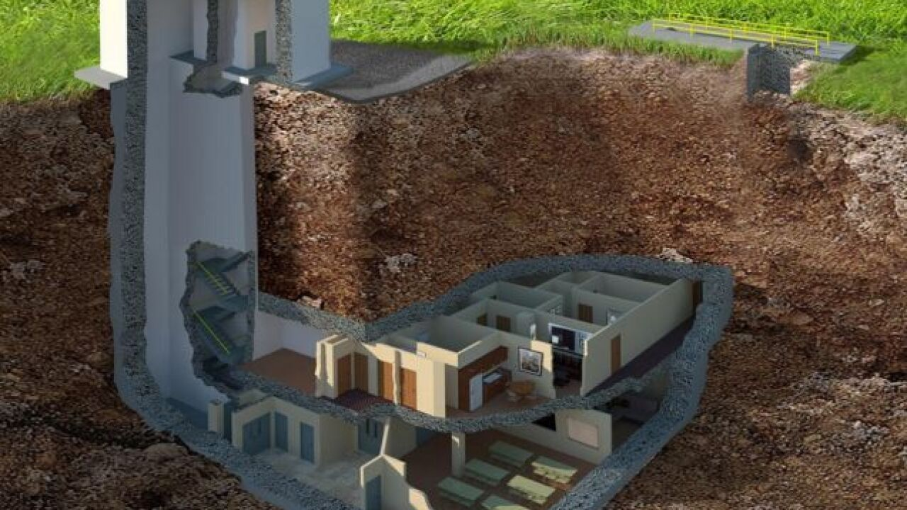Luxury home/nuclear bunker up for sale