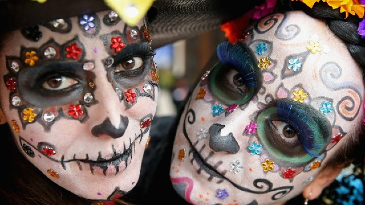 Dia de Los Muertos celebrations in San Diego