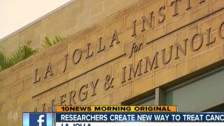 La Jolla researchers testing new way to treat, cure cancer