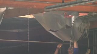 Man falls through roof at Kearny Mesa business
