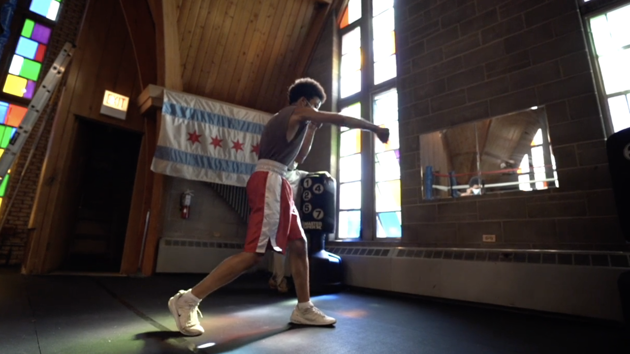 Boxing gym on Chicago's west side teaches youth to fight with hope