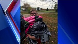Local 11-year-old collecting 800 blankets for the homeless by Thanksgiving