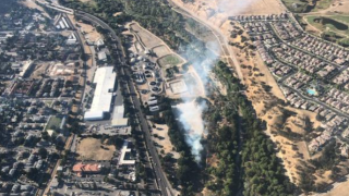 Fire breaks out in Salinas Riverbed in Paso Robles
