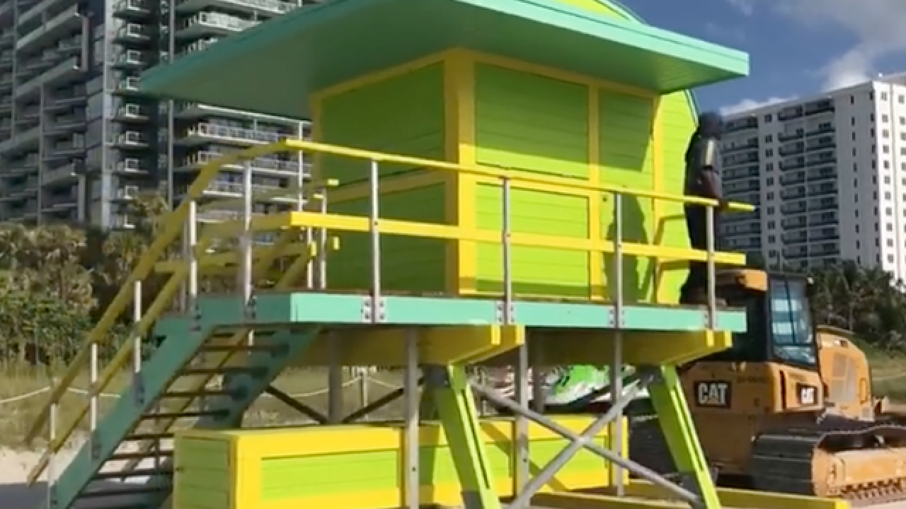 Miami Beach offering 6 lifeguard towers in online auction