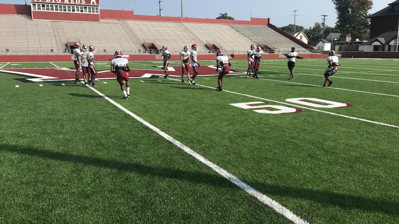 Muskegon set to play first game on new turf at Hackley Stadium
