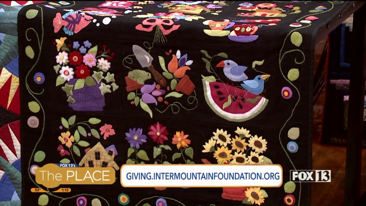 The Holiday Quilt Show and Auction is returning to Salt Lake thismonth