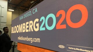 Bloomberg in San Diego