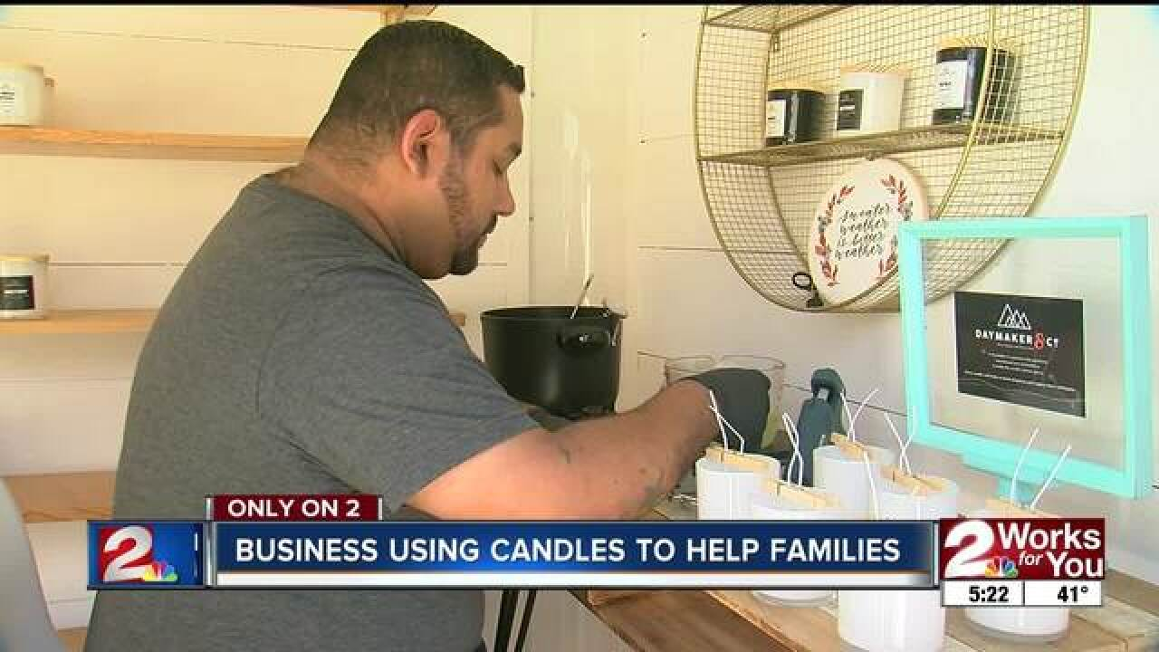 Helping local adoptions one candle at a time