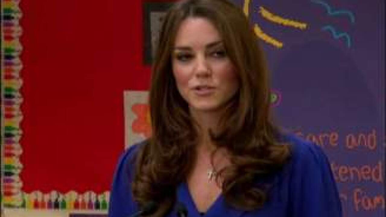 Royal couple 'saddened' by publication of topless Kate Middleton photos