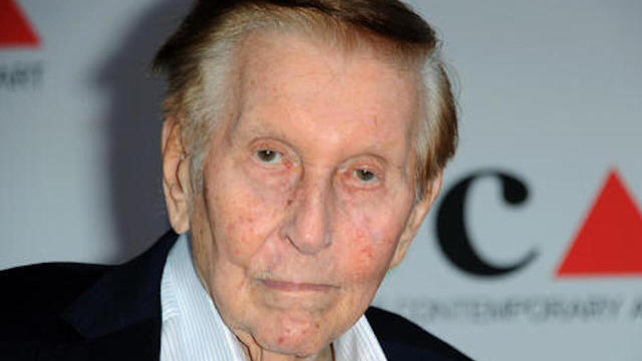 Case dismissed against Sumner Redstone