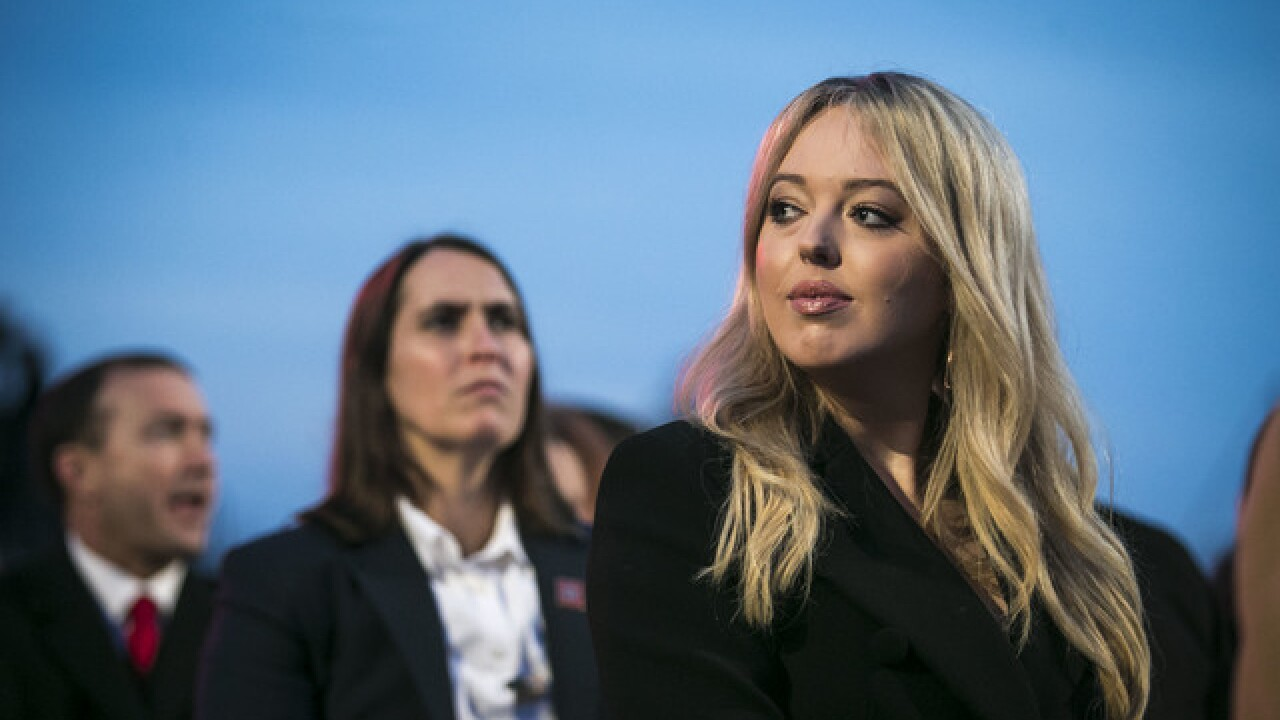 First Daughter Tiffany Trump parties in Las Vegas