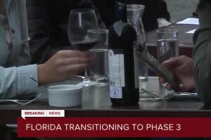 Gov. DeSantis announces Phase 3 of reopening Florida: Restaurants can operate at full capacity