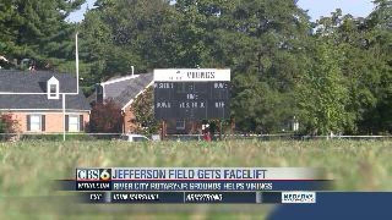 Work continues at Thomas Jefferson; football field reseeded