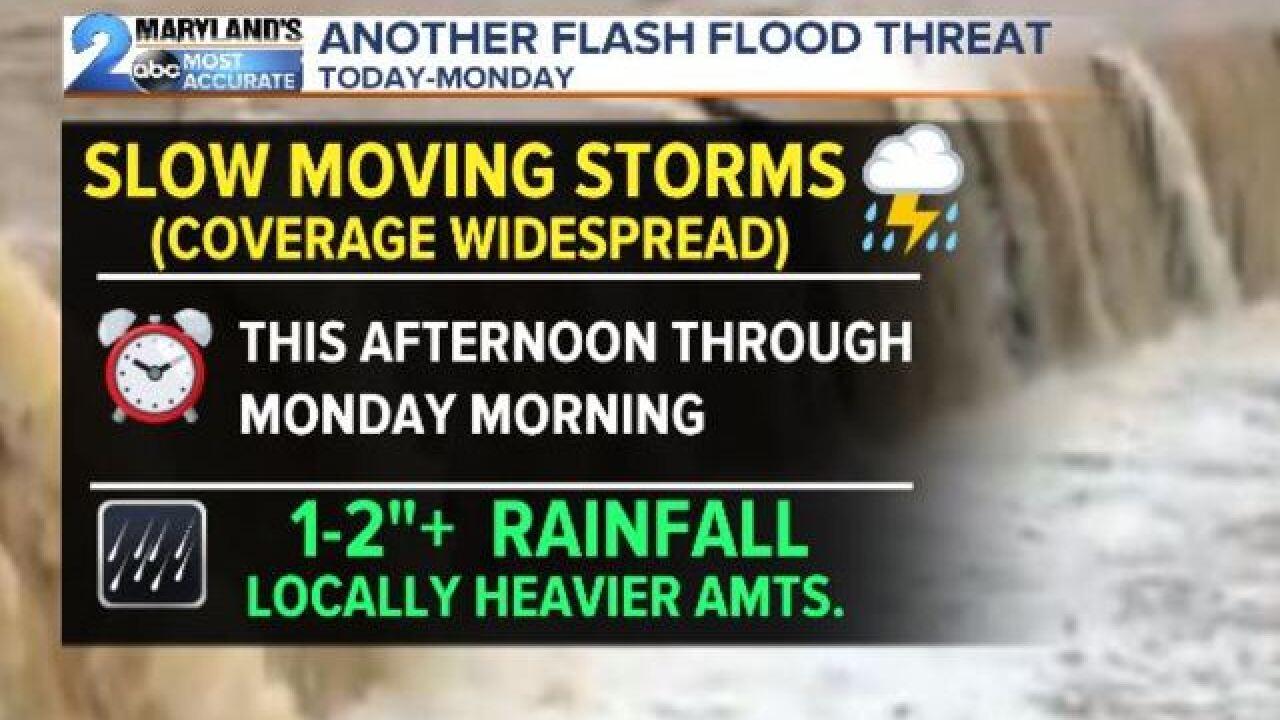 FLASH FLOOD WATCH: More Rain Again