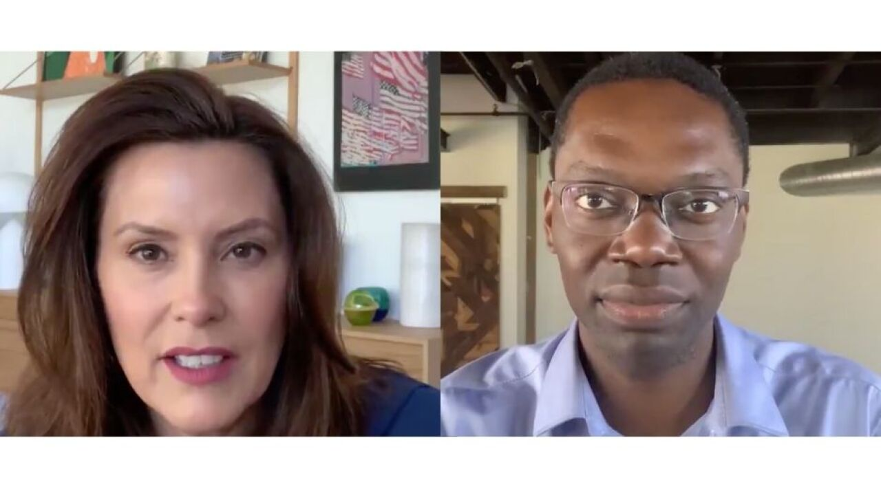 Whitmer, Gilchrist release social video addressing civil unrest across the state, nation