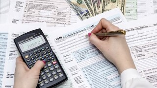 Itemize or take the standard deduction on your federal income tax?