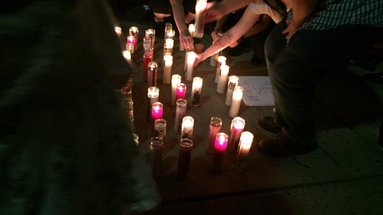 Richmond vigils for Orlando shootingvictims