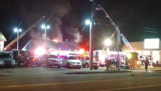 Multiple crews battling fire at Thai restaurant in Depew