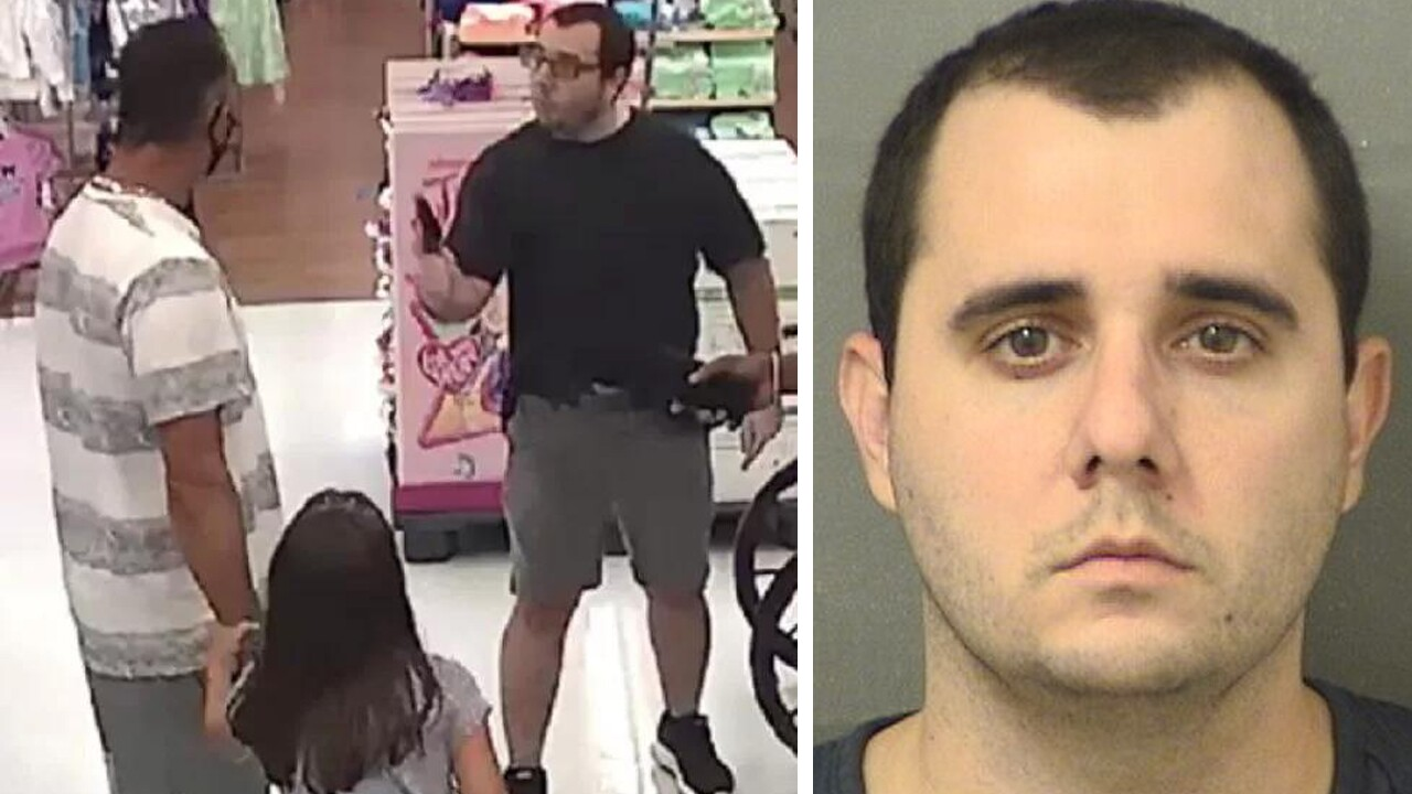 Man arrested after pulling gun in argument over masks, PBSO says