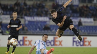 APTOPIX Italy Soccer Europa League