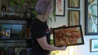 Missoula artist creates her pieces with gun powder