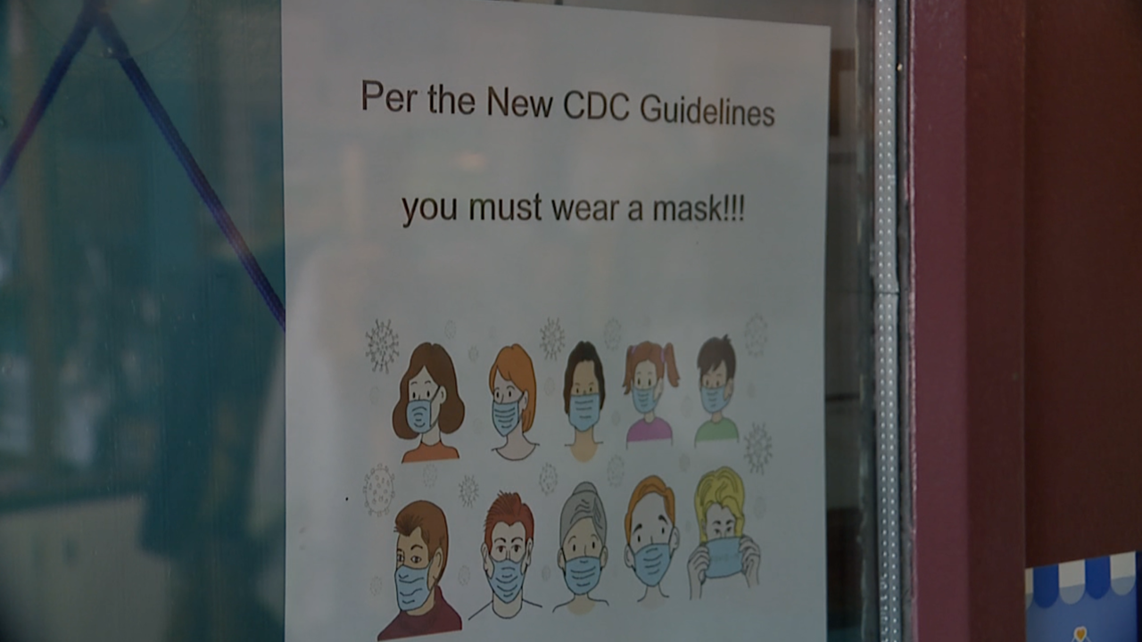 Some businesses reinstate mask mandates as COVID cases rise