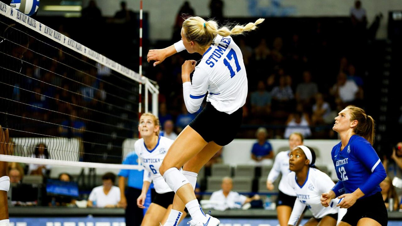 Uk Volleyball Knocked Out Of The Ncaa Tournament