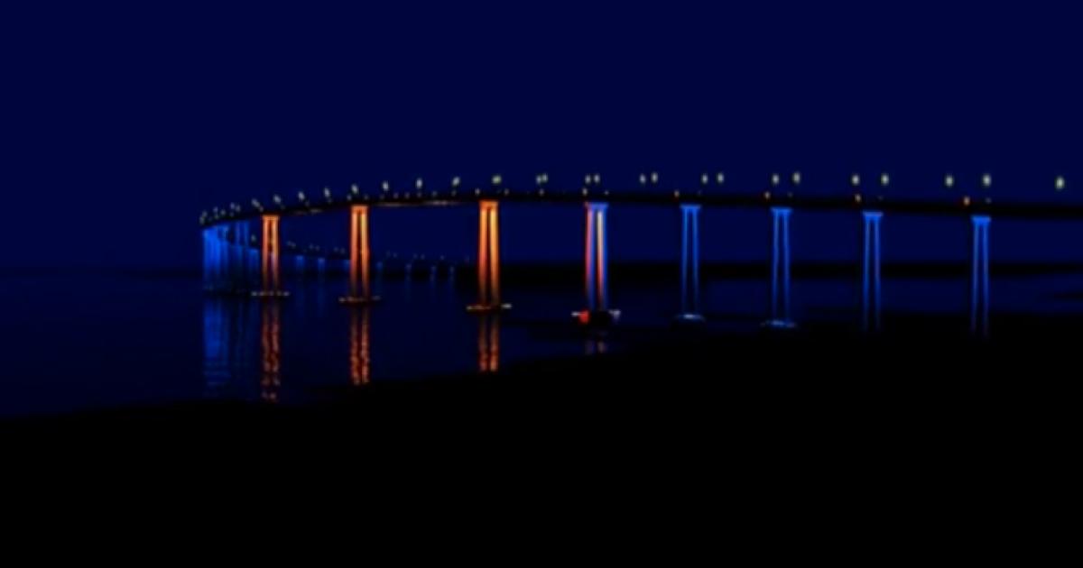 Coastal Commission OKs Coronado Bridge light tests