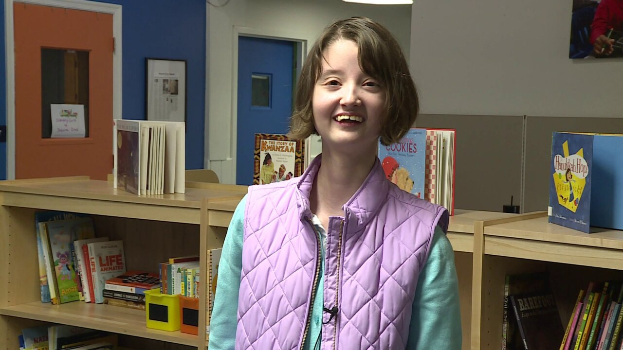 Richmond student collects 100-plus books for abilities library to inspire classmates