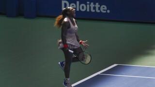 APTOPIX US Open Tennis - Serena Williams