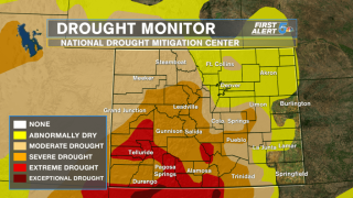 Southern Colorado snows dramatically helping drought situation