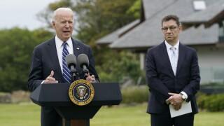 President Joe Biden england